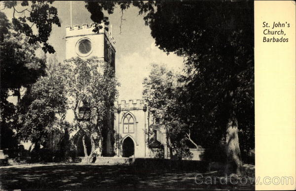 St. John's Church Barbados Caribbean Islands