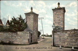 Old City Gates in St. Augustine
