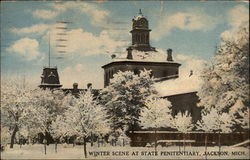 Winter Scene at State Penitentiary