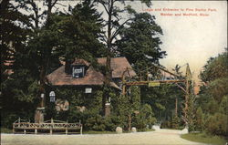 Lodge and Entrance to Pine Banks Park