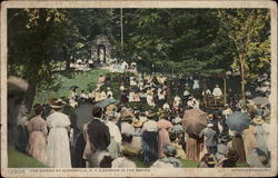 The Shrine at Auriesville, NY; A sermon in the ravine Postcard