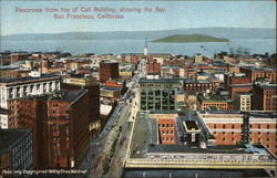 Panorama From Top of Call Building, Showing the Bay