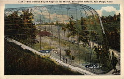 The Tallest Flight Cage in the World, Zoological Garden