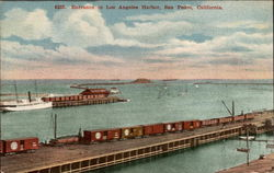 Entrance to Los Angeles Harbor