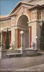 Entrance to Palace of Liberal Arts