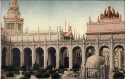 Court of Abundance, Pan-Pac Int. Exposition, 1915