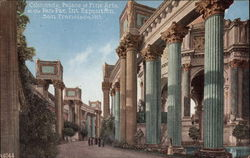 Colonnade, Palace of Fine Arts