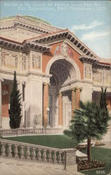 Portal in the Court of Palms, Pan-Pac Int. Exposition, 1915