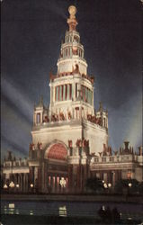 Illumination Tower of Jewels at the Panama Pacific International Exposition