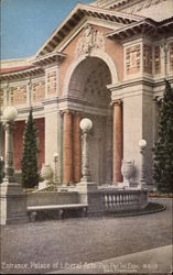 Entrance, Palace of Liberal Arts - Pan.Pac. Int. Exposition