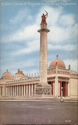 Calder's Column of Progress, Panama-Pacific International Exposition