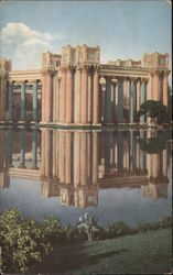 Colonnades - Palace of Fine Arts at the Panama Pacific International Exposition, 1915