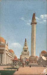 Column of Progress at the Panama Pacific International Exposition 1915