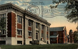 Carnegie Library and Chapel, Grinnell College