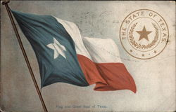 Flag and Great Seal of Texas