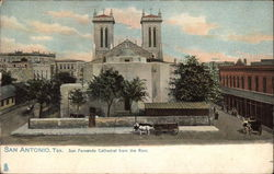 San Fernando Cathedral Viewed from the Rear Postcard