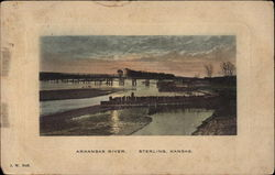 Arkansas River Postcard