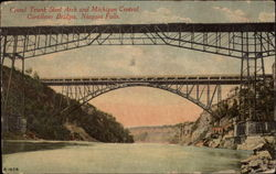 Grand Trunk Steel Arch and Micigan Central Cantilever Bridges