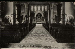 Interior of St. Benedict's Church