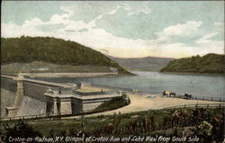 Glimpse of Croton Dam and Lake View from South Side