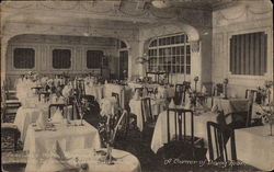 A Corner of Dining Room, Percivals Hotel
