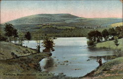 Wachusett Lake and Mt