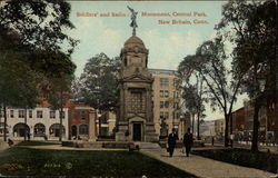 Soldiers' and Sailors' Monument, Central Park