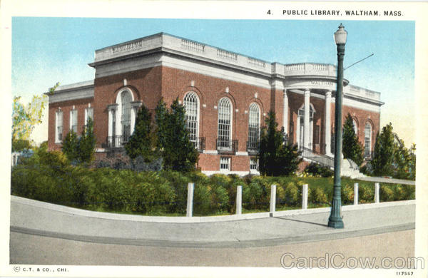 Public Library Waltham Massachusetts