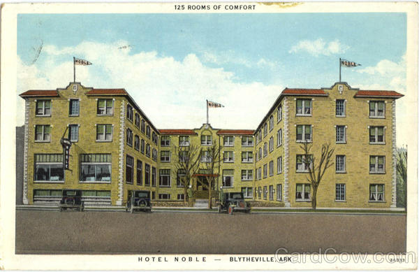 Hotel Noble Blytheville Arkansas