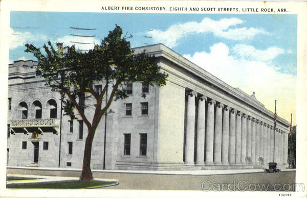 Albert Pike Consistory , Eighth and Scoot Streets Little Rock Arkansas