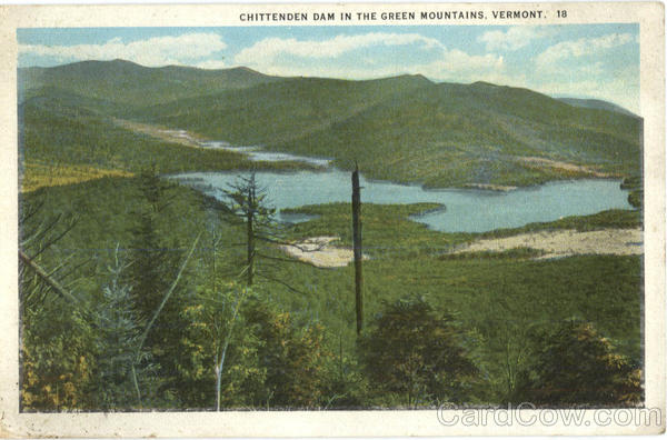 Chittenden Dam Green Mountains Vermont