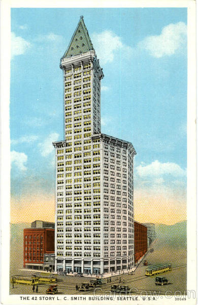 The 42 Story L. C. Smith Building Seattle Washington