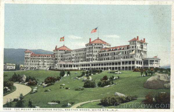 The Mount Washington Hotel, Bretton Wods White Mountains New Hampshire