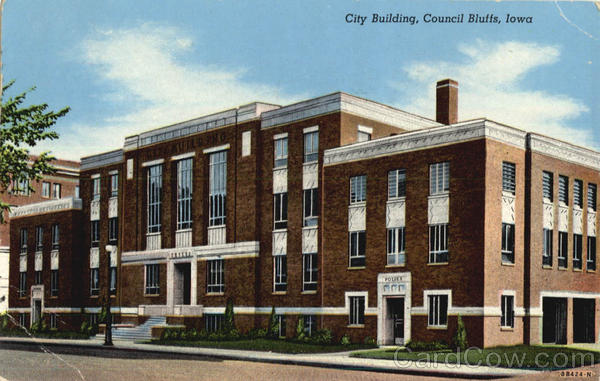City Building Council Bluffs Iowa