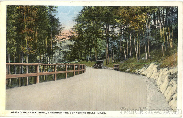 Along Mohawk Trail Berkshires Massachusetts