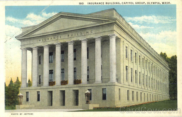 Insurance Building, Capitol Group Olympia Washington