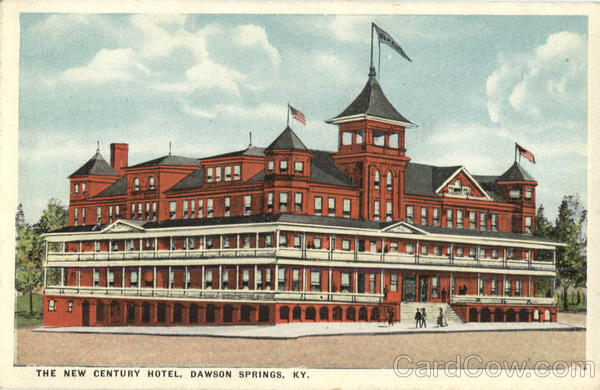 The New Century Hotel Dawson Springs Kentucky