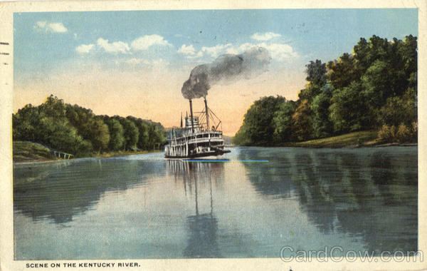 Scene On The Kentucky River Scenic