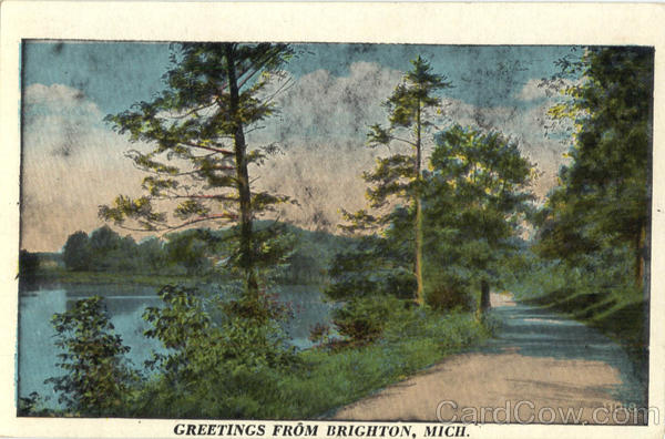 Greetings From Brighton Michigan