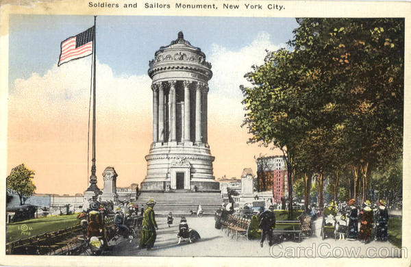 Soldiers And Sailors Monument New York City