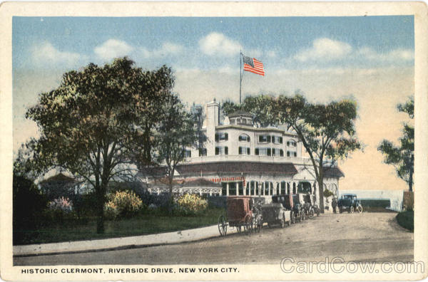 Historic Clermont, Riverside Drive New York City
