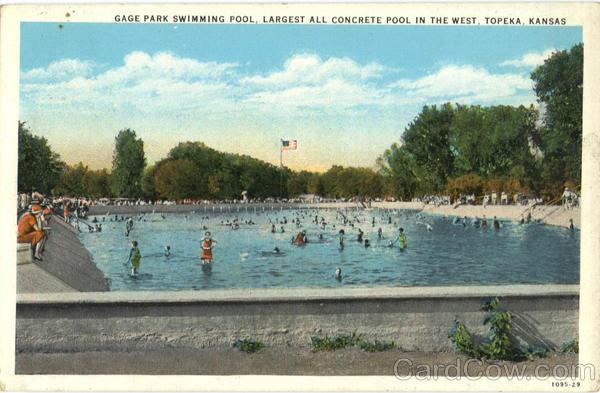 Gage Park Swimming Pool Topeka Ks