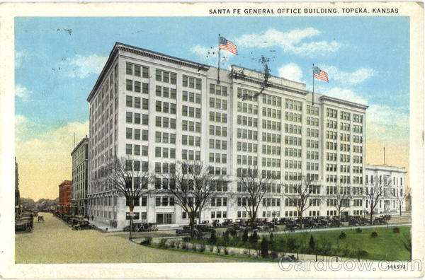 Santa Fe General Office Building Topeka Kansas