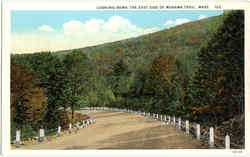 Looking Down The East Side Of Mohawk Trail