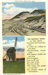 Sand Dunns Old Windmill Postcard