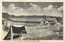 Headquarters Troop Sheds Ayer