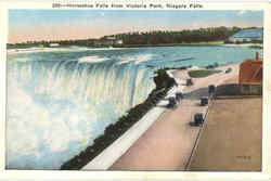 Horseshoe Falls From Victoria Park