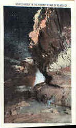 Star Chamber In The Memmoth Cave Of Kentucky Postcard
