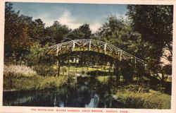 The Moorings Water Garden Arch Bridge