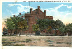 Gymnasium And Armory , University of Wisconsin